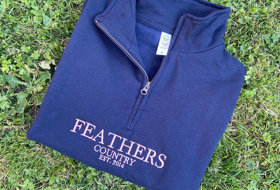 Ampleforth 1/4 Zip Sweatshirt