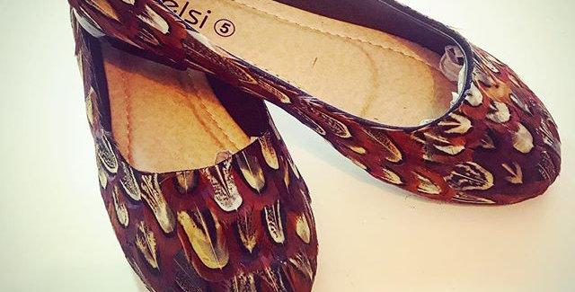 The 'Charlotte' Flat Shoe