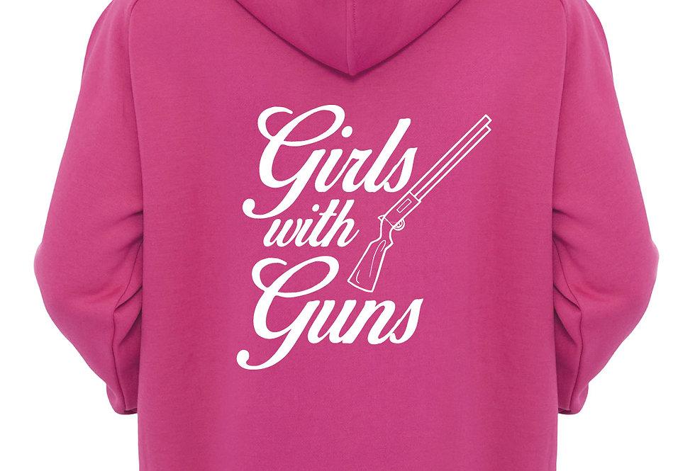 Girls With Guns Hoodie