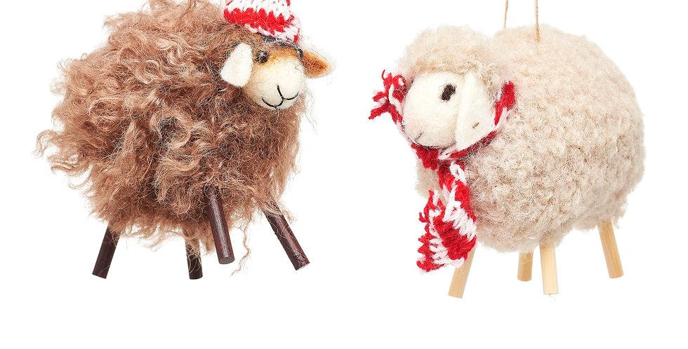 SHEEP FELT DECORATION