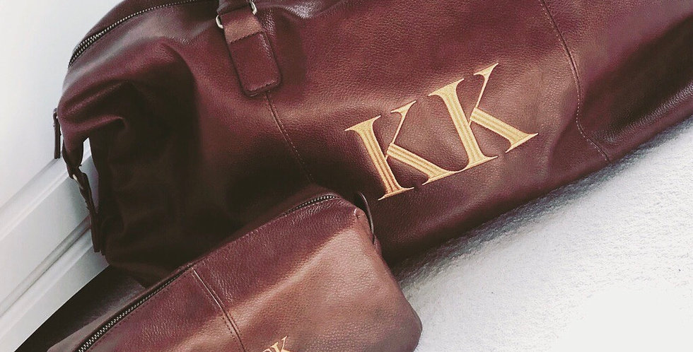 Personalised Weekender Bag