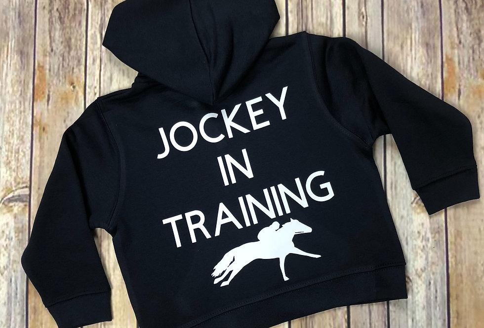 Jockey In Training Hoodie