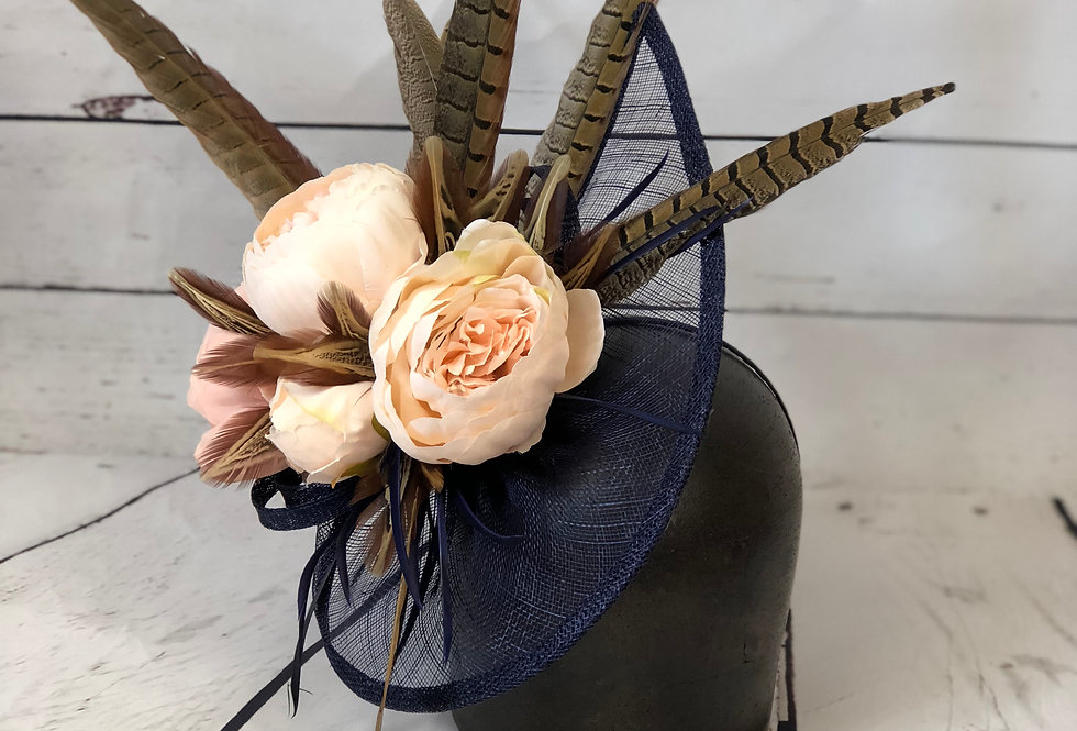 "The ""Penny"" Fascinator"