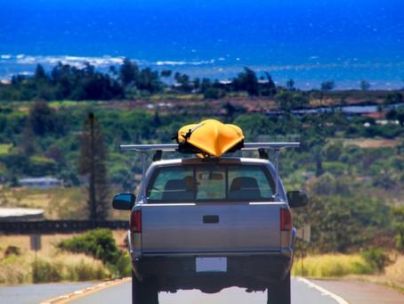 ハワイでUBERを呼ぶとピックアップトラックがやってくる!