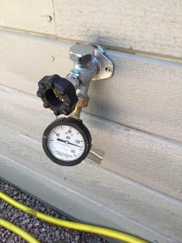 High Flagstaff Water Pressure