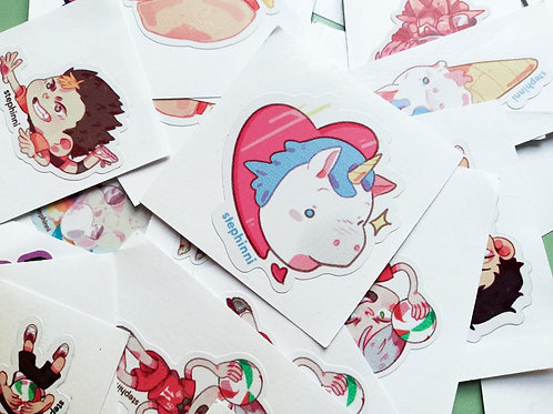 Stickers - Pack of 5
