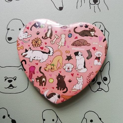 Pets - Button badge