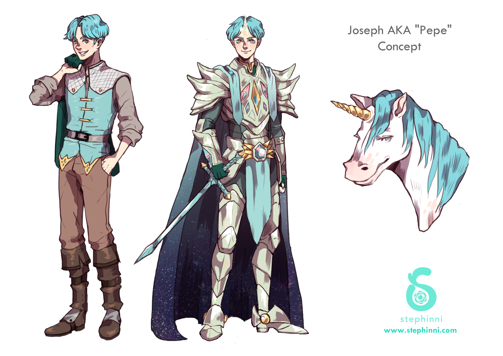Joseph - Unicorn Knight