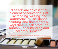 arts in education quote