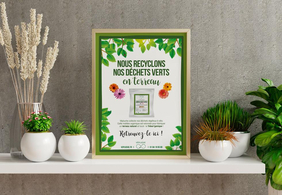 Affiche pour les fleuristes