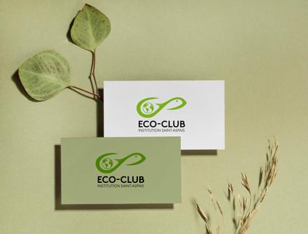 Création du logo Éco-club