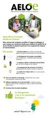AGRICULTURE ET ENERGIES LOCALES EN ESSONNE