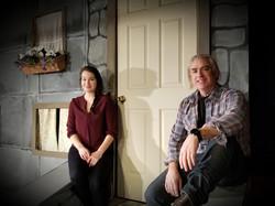 Daniel Bruce and Taryn Noelle