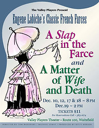 """Two One Act Farces: """"A Slap in the Farce"""" & """" A Matter of Wife or Death"""""""