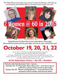 """""""6 Women @ 60 in 2006"""""""