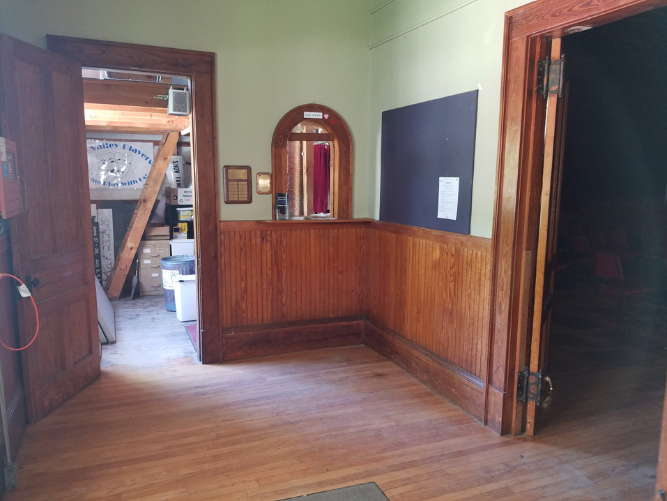 Ticket Booth in Lobby