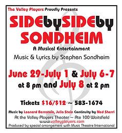 """Side by Side by Sondheim"""