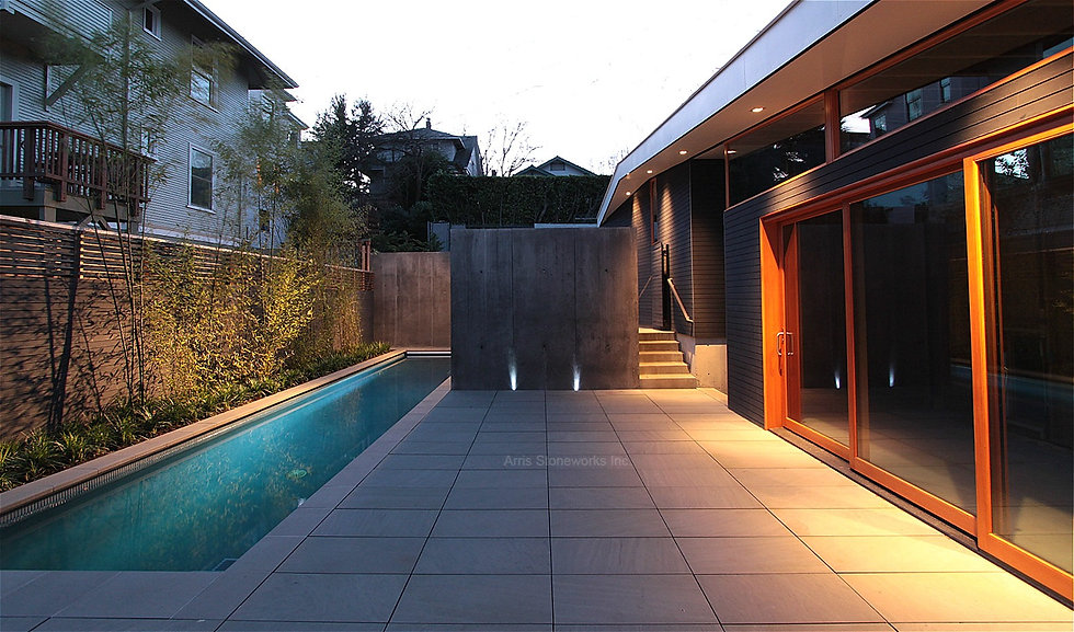 black sandstone, stone caping, stone paving, landscape stone product