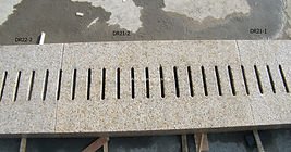 beige granite, stone paving, stone drain, yellow granite plank, tuscan granite