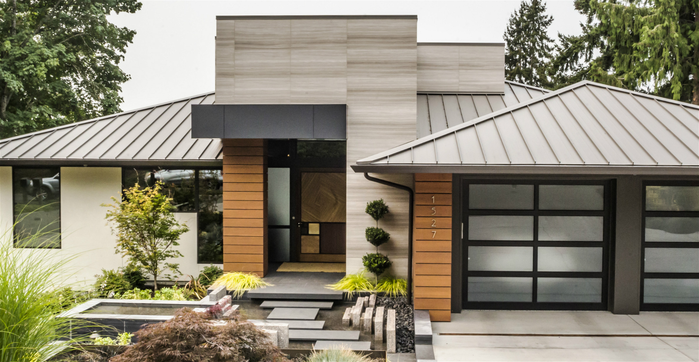 custom stone, stone residence