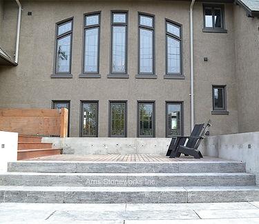 mare limestone, grey limestone, stone paving, stone stairs