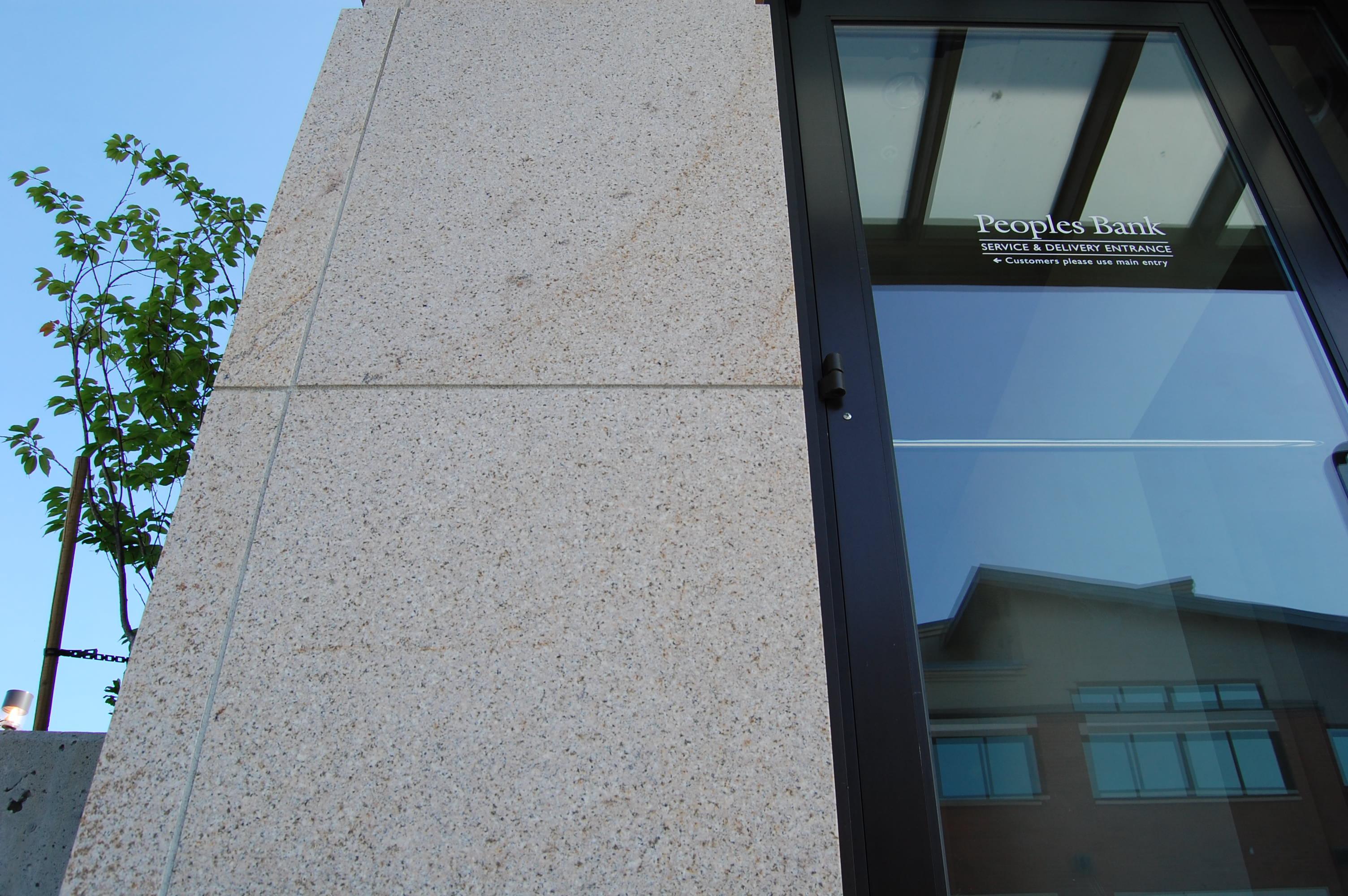 people's bank, custom stone
