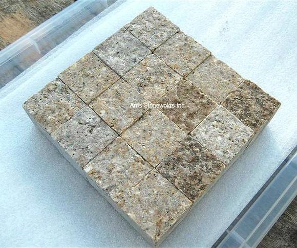 antique granite, antique stone, beige granite, yellow granite, architectural stone, stone spa, stone coping
