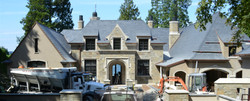 Custom Architectural Stone House,