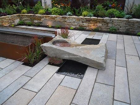 Antique granite, stone paving, stone drain, antquie granite plank,
