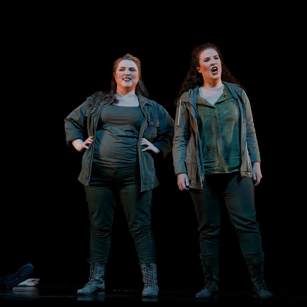 Anna-Louise and Olivia Cranwell in Die Walküre for Opera Australia, December 2016