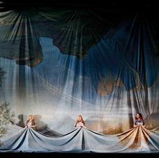 Jacqueline Dark, Anna-Louise and Tania Ferris in Götterdämmerung for Opera Australia, December 2016
