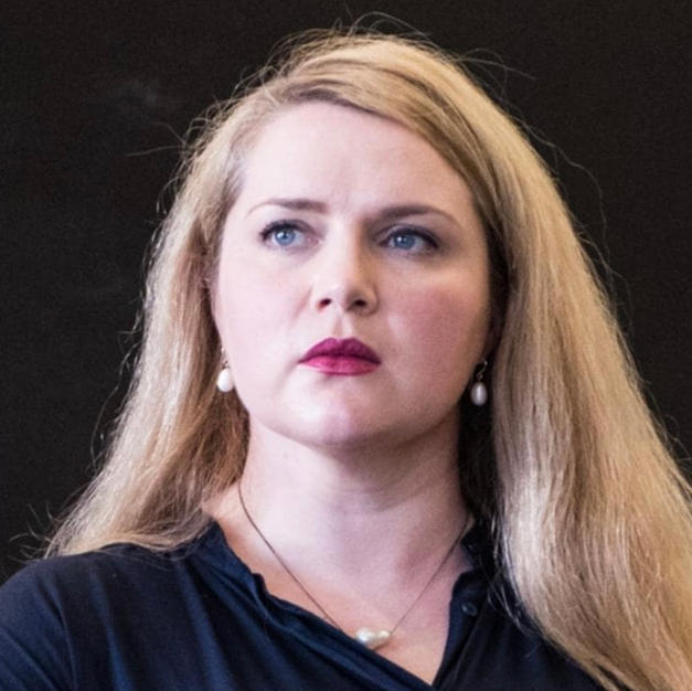 Anna-Louise rehearsing Brünnhilde for Opera Australia, March 2020