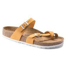 Mayari Leather Apricot Soft Foot Bed
