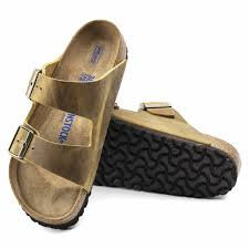Arizona Soft Footbed Leather Ochre