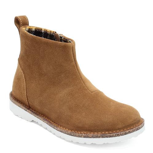 Birkenstock Melrose, Tea Leather Suede Boot