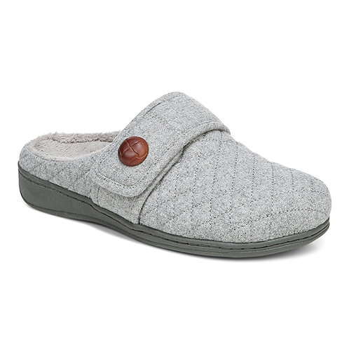 Vionic Carlin Grey Slipper