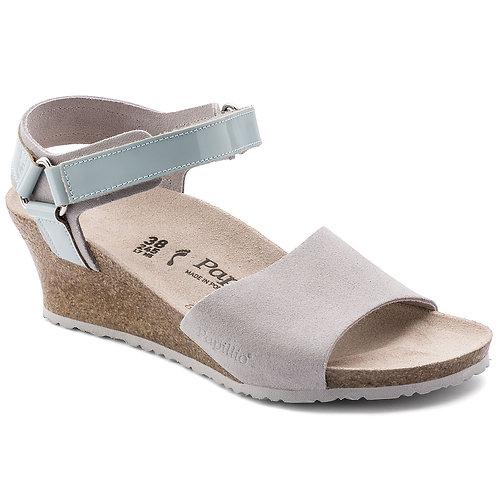 Papillio Eve, Grey Suede Leather