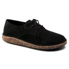 Gary, Black Leather Suede