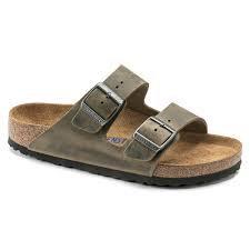 Arizona Soft Footbed Leather Faded Khaki