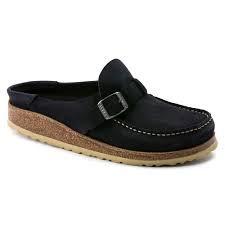 Buckley, Black Suede Leather