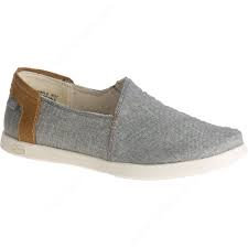 Chaco Ionia Canvas Sand Slip On Gray