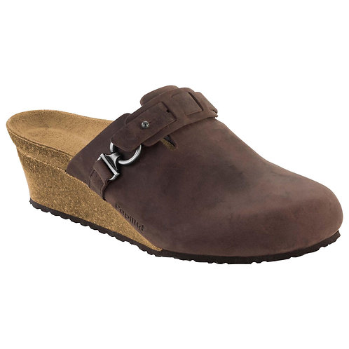 Papillio Dana, Brown Leather