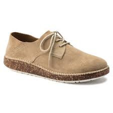 Gary, Sand/Ginger Leather Suede