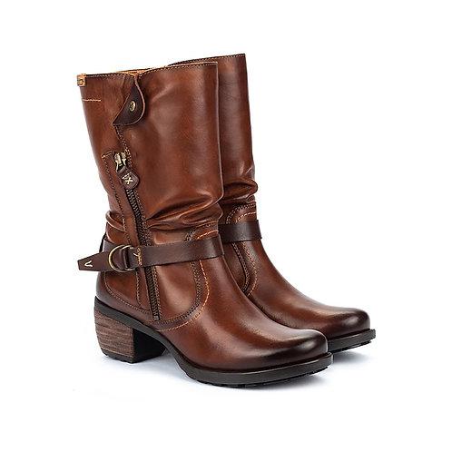 Pikolinos 9629 Mid Calf  Boot, Cuero