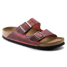 Arizona Earth Red Leather Soft Footbed