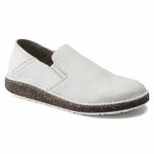 Callan White Leather