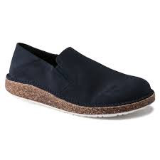 Callan Navy Suede Leather
