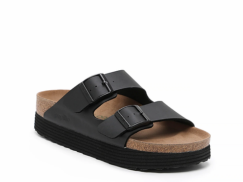 Papillio Arizona Platform Black Vegan