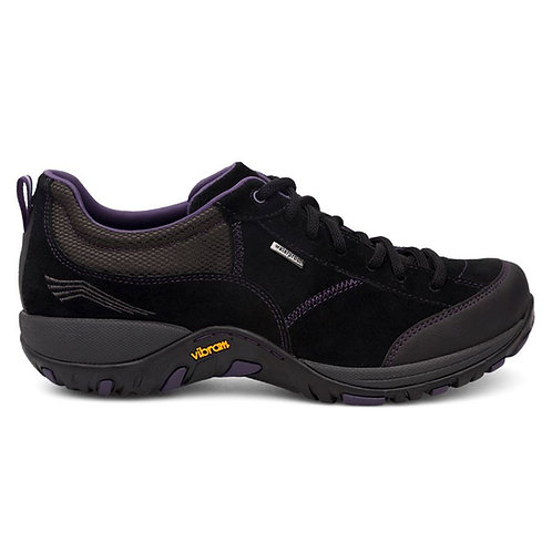 Dansko Paisley, Black w/purple trim