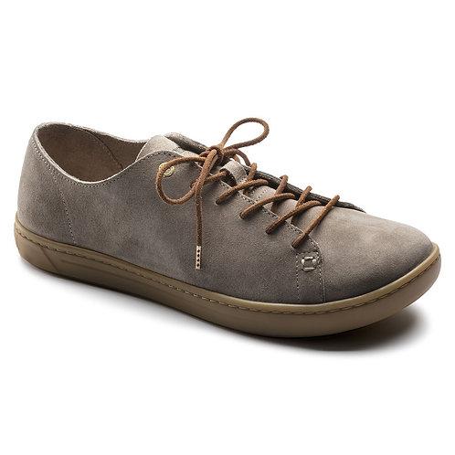 Arran, Taupe Suede Leather